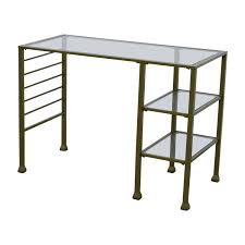 office table dimensions 42 off wayfair wayfair gold matte writing desk tables