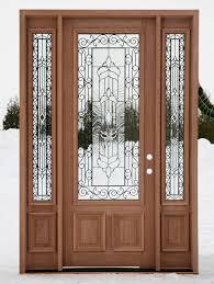 door design furniture exterior black wooden door with frosted