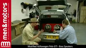 volkswagen polo modification parts modified volkswagen polo gti bass speakers youtube