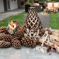 pine cone table decorations favorite things table decorations