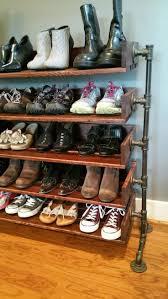 Entry Shoe Storage by Shoe Storage Diy Shoe Rack For Entrance Entrywayshoe Entryway Iron