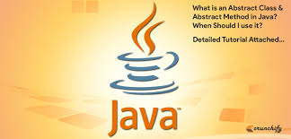 what is an abstract class and abstract method in java when should