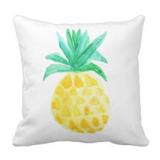 Pineapple Home Decor Pineapple Outdoor Pillows U0026 Cushions Zazzle