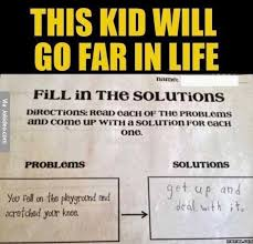 Funny Life Memes - this kid will go far in life jpg