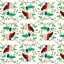 bird wrapping paper birds designer gift wrap