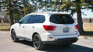 nissan pathfinder 2017 white 2017 nissan pathfinder midnight edition test drive review