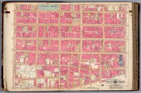 Map Downtown Los Angeles by 1914 Baist Atlas Plate 2 Center Of Downtown Los Angeles The