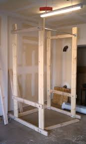 Diy Wood Squat Rack Plans by Build Your Own Power Rack End Of Three