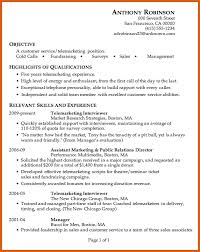 Cold Calling Resume Examples by Customer Service Resume Examples Apa Examples