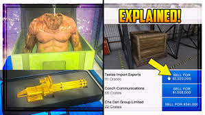 gta 5 u0027ceo crate selling u0027 explained special cargo how much money
