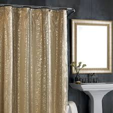 Brown Gold Curtains Lovable Black And Gold Curtains And Black And Gold Shower Curtain