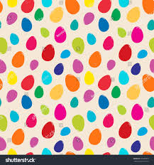 easter wrapping paper bright seamless vector pattern easter eggs stock vector 376905979