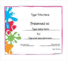 achievement templates free printable certificates of achievement
