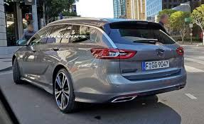 opel insignia 2017 opel insignia sport tourer also spotted without any camo