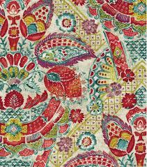 home decor print fabric williamsburg byzantine damask bejeweled