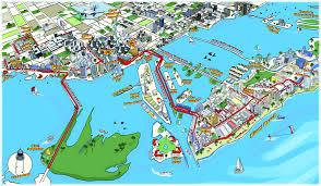 Miami Beach Map Miami Boat Tour