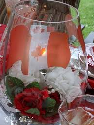 Table Centerpieces 50 Canada Day Table Decorations Centerpieces And Summer Party Ideas