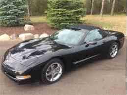 1998 corvette black used chevrolet corvette 15 000 in michigan for sale used