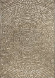 Area Rugs With Circles Orian Rugs Indoor Outdoor Circles Cerulean Gray Brown Rug