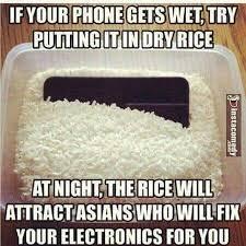Phone Dry Meme - best way to repair your phone memalona