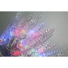 novolink 80 light 8mm mini globe multi color icicle led lights