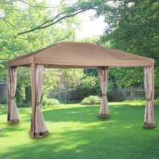 patio gazebos and canopies replacement canopy for abba patio 10x13 gazebo garden winds