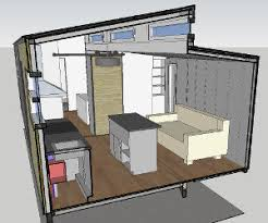 Home Design Using Sketchup Tiny House Plans Big Tiny House