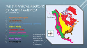 the 8 physical regions of america