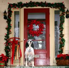 Outdoor Christmas Door Decorations by Outside Christmas Door Decorations Designcorner
