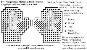 plastic canvas ornament patterns decoration crafts