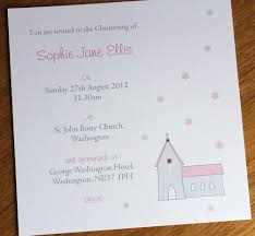Personalised Christening Invitation Cards Personalised Christening Invitations Packs Of 10 Just For Cards