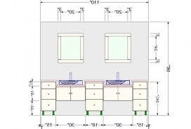 sensational ideas bathroom vanity light height standard for a