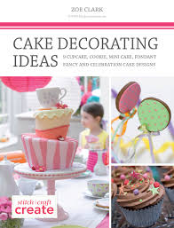 free cake decorating ideas ebook sewandso