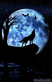 wolf howling at the moon composite 7393141648 l hdrcustoms