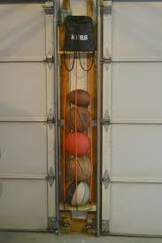 diy sports ball holder organizations garage organization and