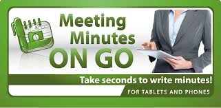 minutes of meeting app from siyami apps take seconds to write