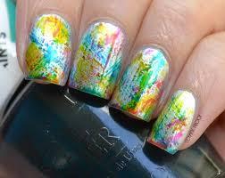 nails opi color paints u201cdistressed brush stroke u201d nail art