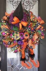 wicked witch halloween wreath halloween wreath deco mesh