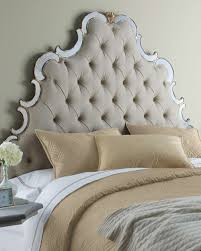 Tufted Upholstered Headboard Classic Bedroom With Cheap Tufted Upholstered Headboards Square