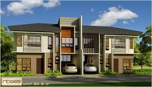 Luxury Duplex House Plans Duplex Model House Philippines House Best Art