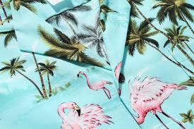 in hawaii men u0027s hawaiian shirt aloha shirt pink flamingos allover