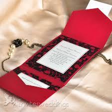 fancy invitations fancy flower pocket wedding invitations iwps063 wedding