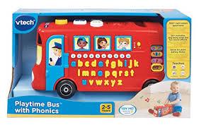 si e de bain vtech vtech playtime with phonics autobus educatif version