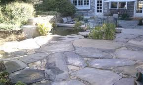 Diy Stone Patio Ideas Stone Patios And Pathways