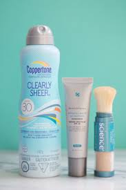 how to re apply sunscreen over your makeup beautyeditor