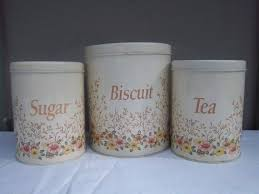 vintage kitchen canisters sets kitchen canister set with biscuit tin metal cookie tin regency