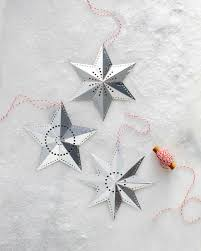 dazzling shaped diy ornaments martha stewart