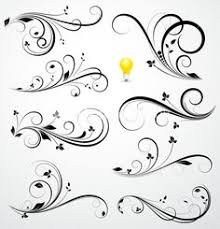 feminine swirl tattoos here are some filigree designs for