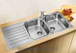 Lantos Stainless Steel Kitchen Sinks BLANCO Lantos SIF Compact - Kitchen sink pop up waste