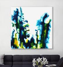 hexa abstract acrylic painting on canvas u2013 brazen design studio